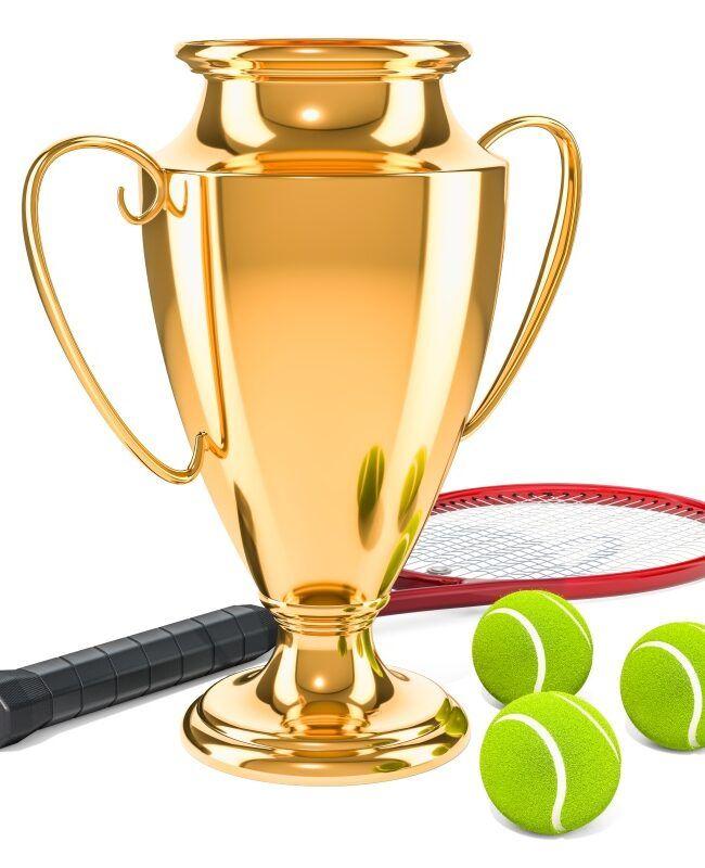 Tenis. Puchar - trofeum Wielkiego Szlema