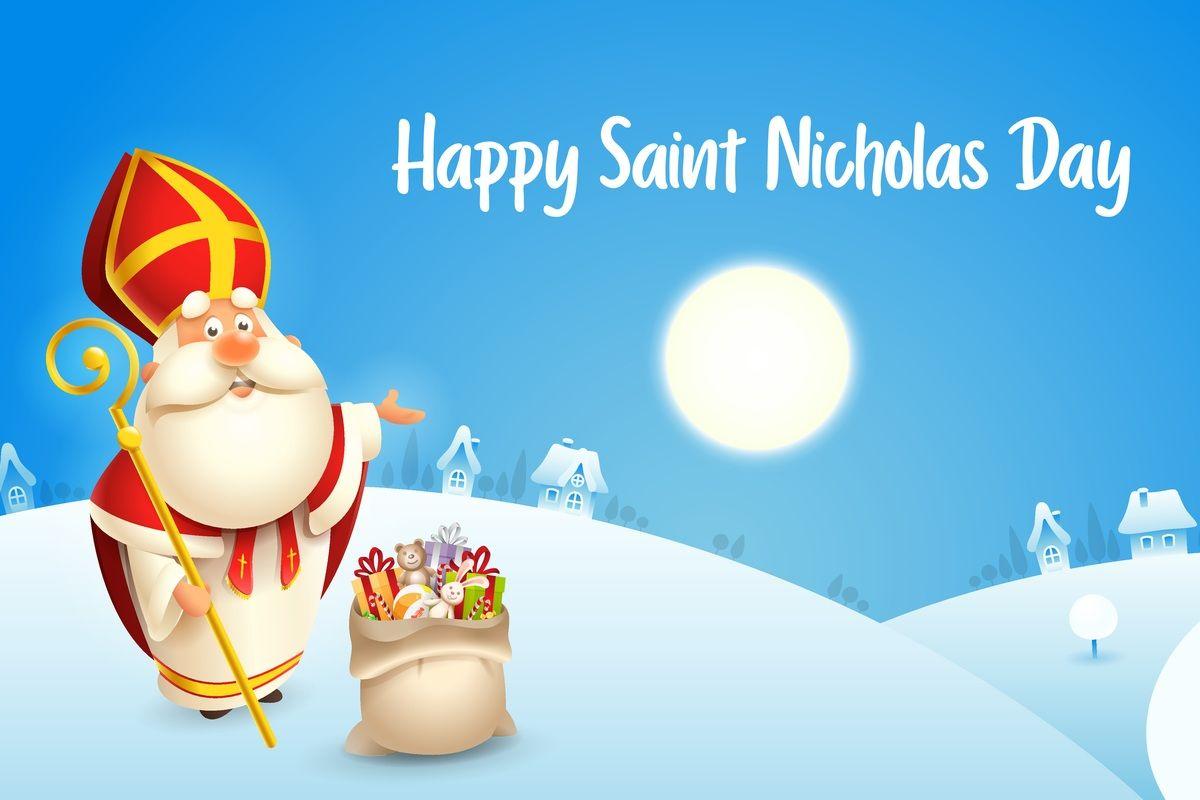 Święty Mikołaj biskup