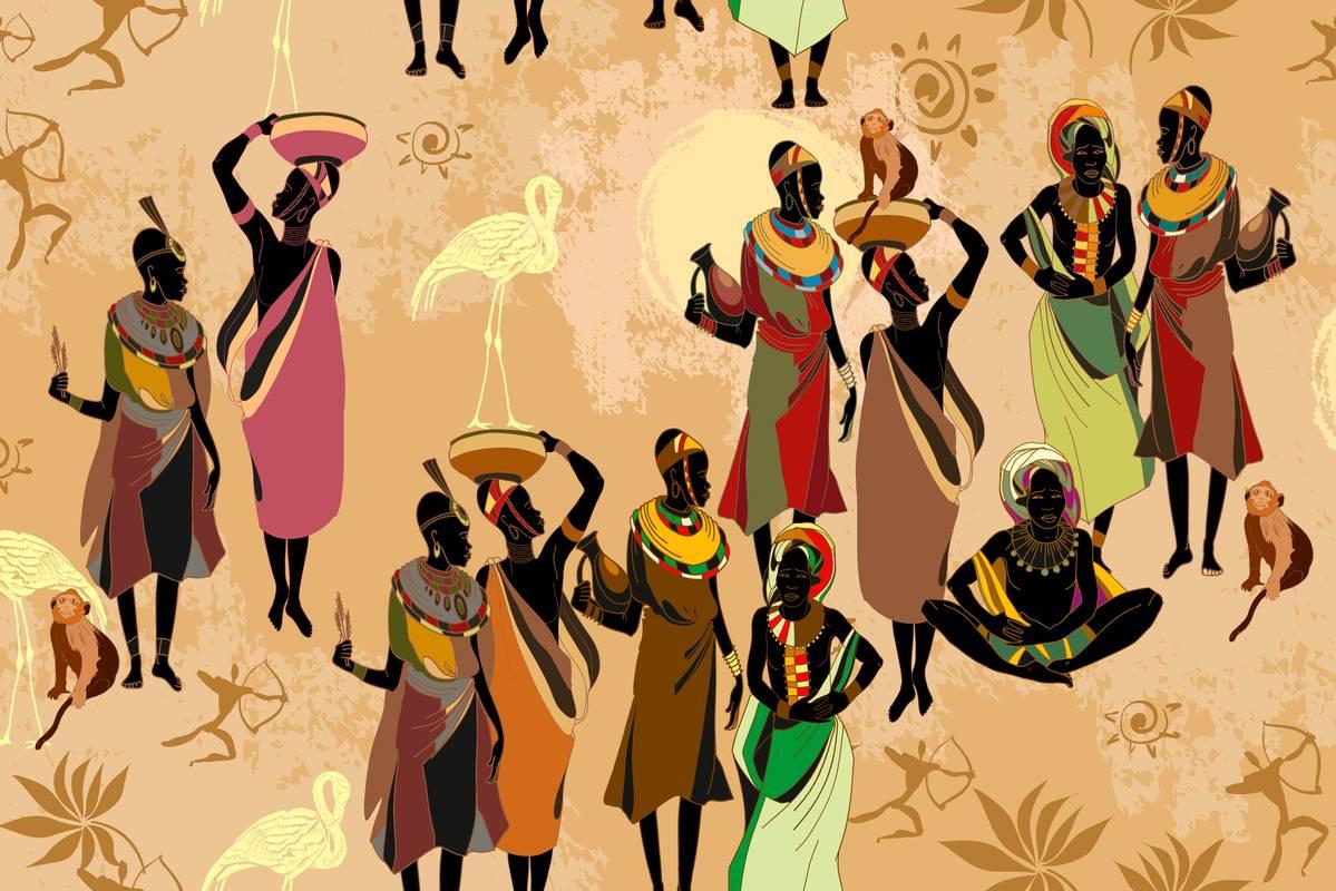 Afryka - mieszkańcy sawanny
