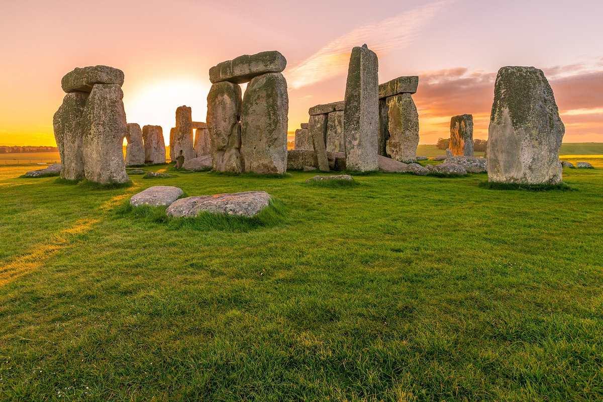 Stonehenge - najbardziej znany kamienny krąg celtycki