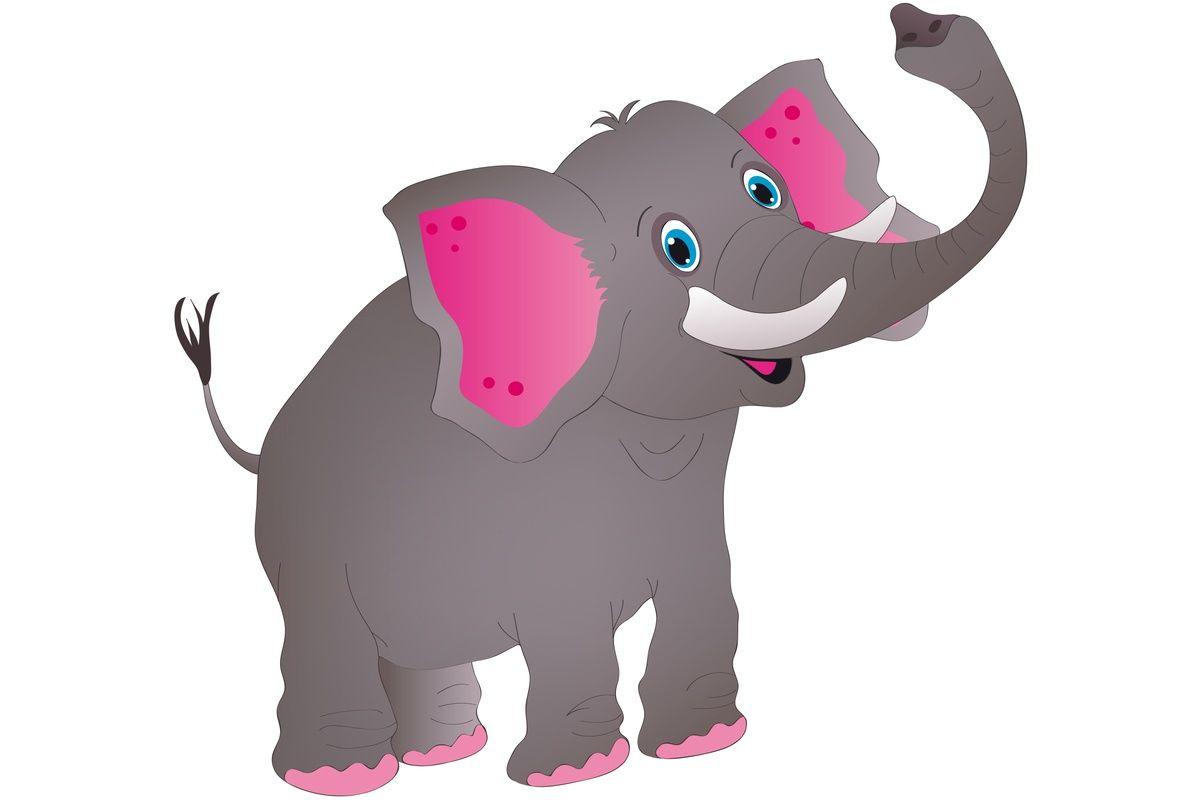 Słoń - ilustracja