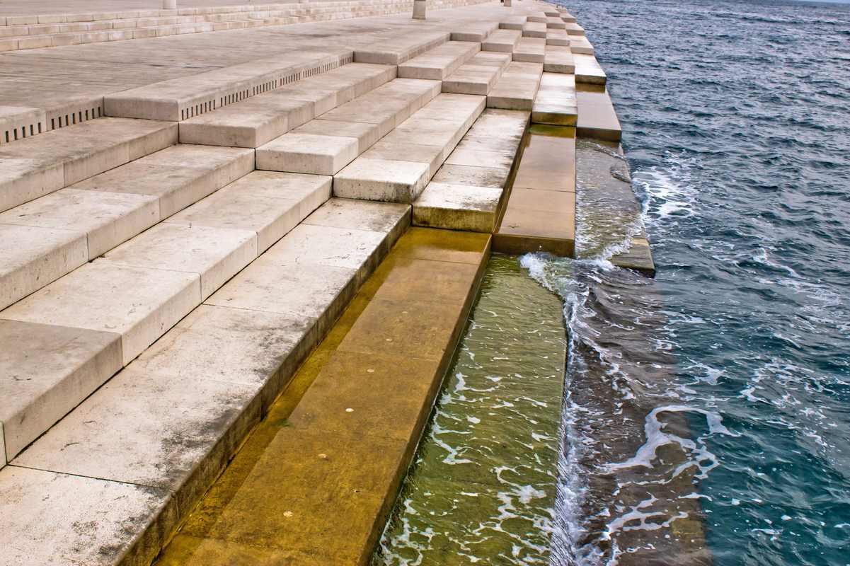 Zadar, organy morskie