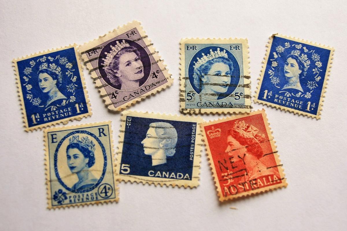 Znaczki pocztowe z wizerunkami królowej Elżbiety II