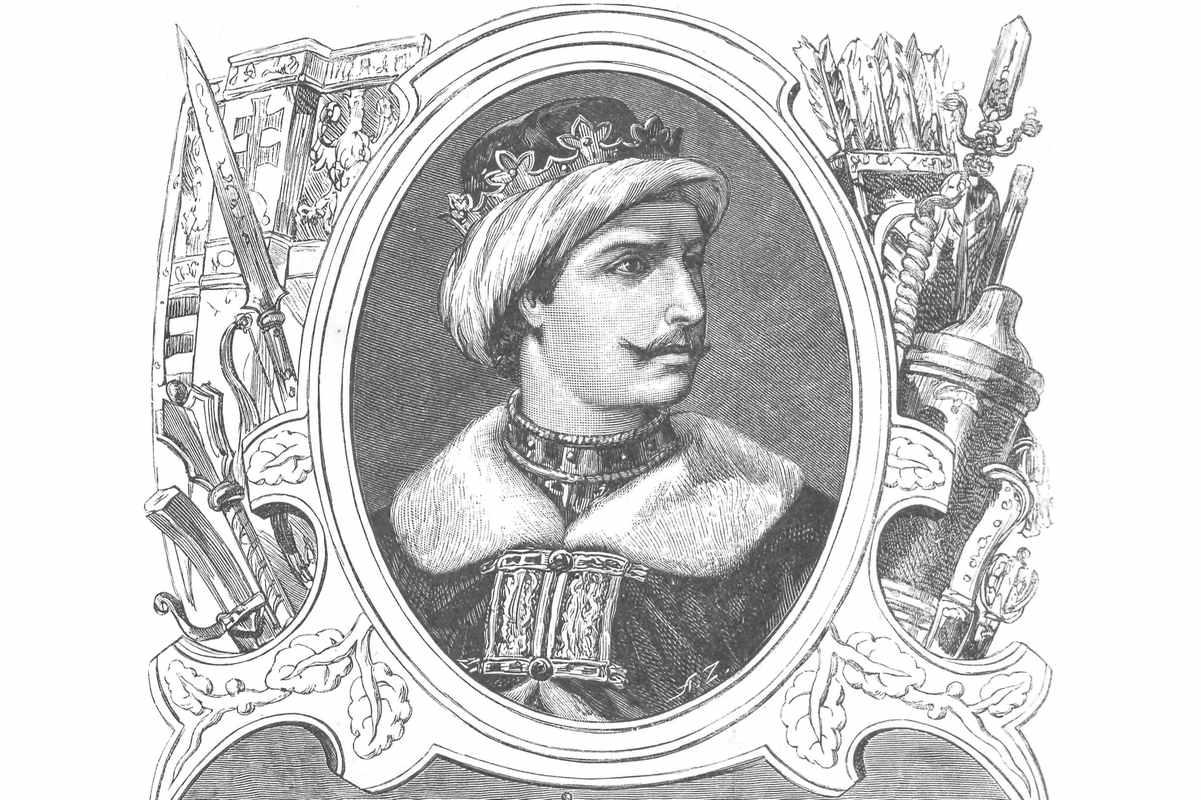 Władysław Warneńczyk portret króla